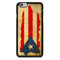 Puerto Rico Map Flag iPhone 6/6S Case