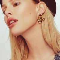 Flower Loop Earrings – For Love & Lemons