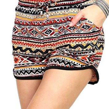 Women's Soft Harem Shorts Ultra Premium Pockets 15 Trending Prints by Conceited