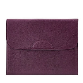 Portfolio Case Scotch Grain Pebble Leather | Wine