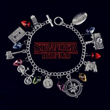 Stranger Thing Bracelet Tape Phone Camera Monster Bangle Bracelet W