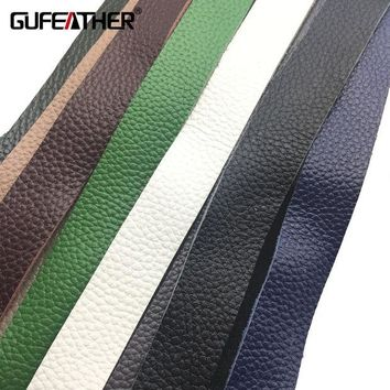 ac spbest GUFEATHER/jewelry accessories/accessories parts/jewelry findings/DIY/ leather cord/Jewelry making/Genuine Leather 90CM