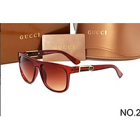 GUCCI 2018 counter models men and women elegant stylish sunglasses F-ANMYJ-BCYJ NO.2
