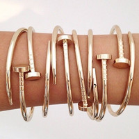 Nail Style Bracelet Stainless Steel ( 2-Days FREE SHIPPING)