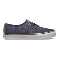 Vans Paisley Authentic (medieval blue)