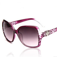 Fashion Metal Lace Anti-Uv Women's Sunglasses = 5660721601