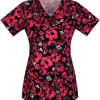 """Buy Dickies Women's Gardens Galore""""Youtility"""" Mock Wrap Top for $21.45"""