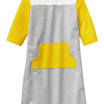 Gap Girls Factory Colorblock Pocket Dress
