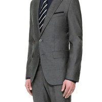 MICRO-STRUCTURED SUIT - Suits - Man - ZARA United States