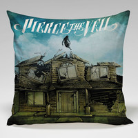pierce the veil cool cover Square Pillow Case Custom Zippered Pillow Case one side and two side