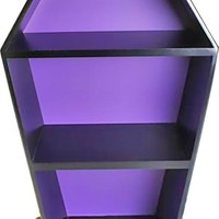 COFFIN SHELF | Black & Purple