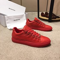 Balenciaga Men's Fashion Cool Edgy Casual sneaker Running red Shoes Best Quality 2020 New size EU 41 EU 42 EU43