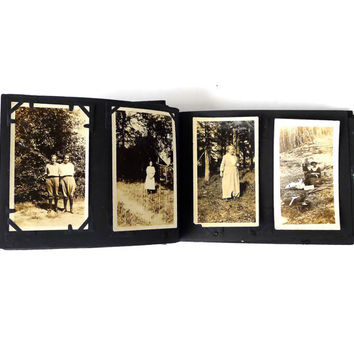 Antique 1920s Photo Album