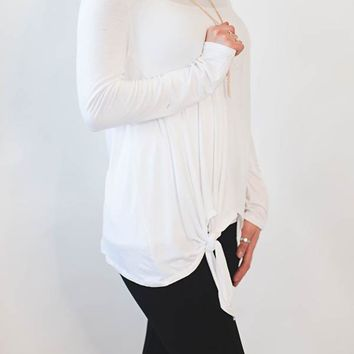 Knot Bottom Top - Ivory