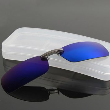 Women's Sunglasses Clip O Driving Night vision Male Anti-UVA