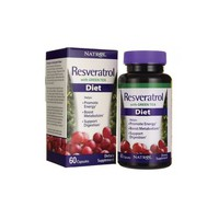 Resveratrol with Green Tea Diet, 60 Capsules by Natrol