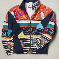 Vintage Head Windbreaker Jacket