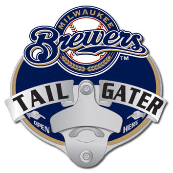 Milwaukee Brewers MLB Tailgater Hitch Cover