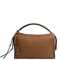 Fendi - Lei Leather Satchel - Saks Fifth Avenue Mobile