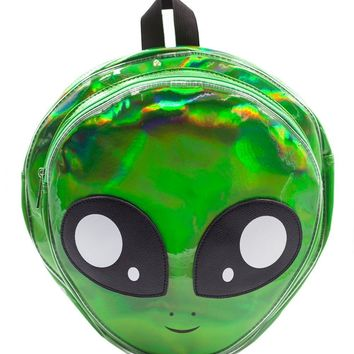 Hologram Alien Backpack