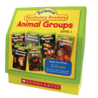 Science Vocabulary Readers Set: Animal Groups (Level 1) - Paperback - The Scholastic Store