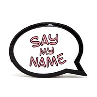 SOPHIA WEBSTER | 'Say My Name' Embroidered Leather Clutch | Browns fashion & designer clothes & clothing