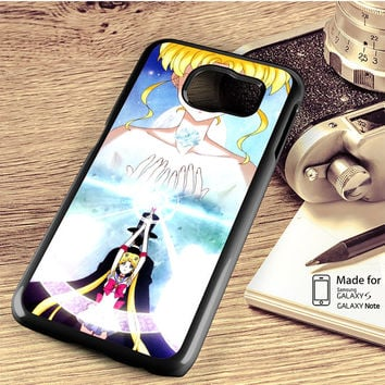 Sailor Moon Crystal Anime Samsung Galaxy S4 S5 S6 S6 Edge S6 Edge Plus S7 S7 Edge Case Note 3 4 5 Edge Case
