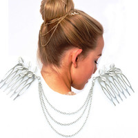 Tassels Hair Accessories Leaf Accessories = 4806940548