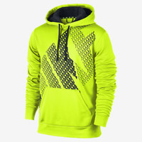 The Nike KO Block Pullover Men's Training Hoodie.