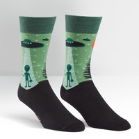 Mens I Believe Crew Socks