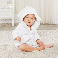 Opentip.com: Baby Aspen BA14048NA Love Ewe Lamb - Hooded Spa Robe