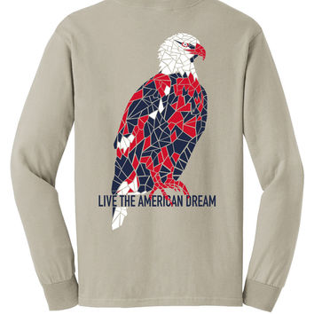 'American Bald Eagle' Comfort Colors Long Sleeve