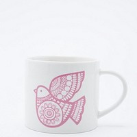 Jane Foster Patterned Bird Mug - Urban Outfitters