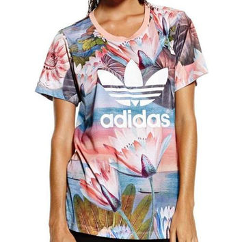 Adidas Originals Lotus Farm Series T-shirt