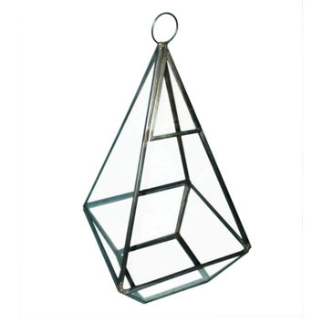Bloom Room Glass & Metal Terrarium-Gunmetal Finished - JoAnn | Jo-Ann