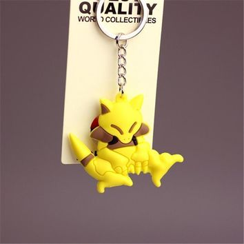 New Pikachu Keychain Pocket Monster Key Holder Pok