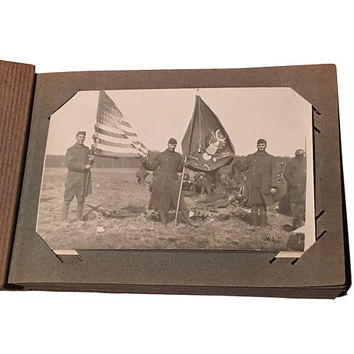 WW1 Photo Album, World War 1, USA Troops in Germany, The Great War, Antique Wartime Photography