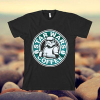 star wars coffee design clothing for T-shirt mens and T-shirt girls