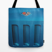 Corvette Stingray  Tote Bag by Spirit Young