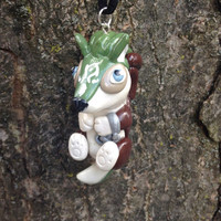 Legend of Zelda Inspired: Chibi Wolf Link Necklace/Ornament from Twilight Princess