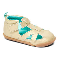 Carters Gold & Green Stage 2 Bia Leather Sandal | zulily