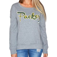 Green Bay Packers Womens Sparkle Sweatshirt | SportyThreads.com