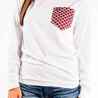 Alabama Spirit Wear Long Sleeve Pocket Tee