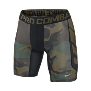 "Nike Pro 6"" Hypercool Compression Woodland Men's Shorts"