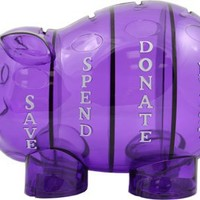 Cool Stuff - Money Savvy Pig - Purple