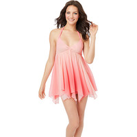 SUNRISE SUNSET CHIFFON SLIP-732962: BETSEY JOHNSON