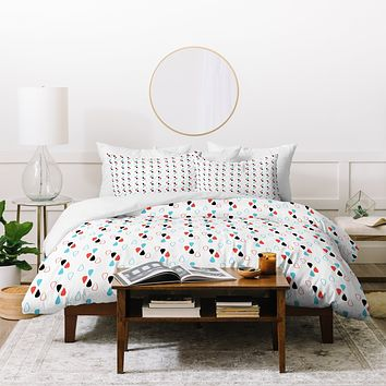 Marta Spendowska Dropplets 1 Duvet Cover