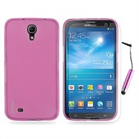 "Starter Kit for Samsung Galaxy Mega 6.3"" i9200 - Case, Screen Protector, Stylus (Pink)"