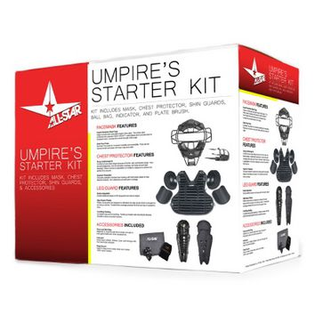 ALL-STAR CKUMP Umpire's Starter Kit - Black