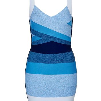 Ombre Bandage Mini Dress - Topshop